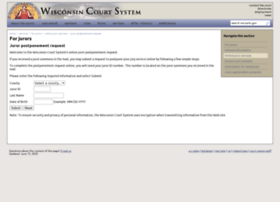 Juryrequest.wicourts.gov
