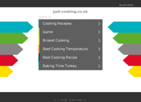 just-cooking.co.uk