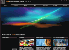 just-productions.co.uk