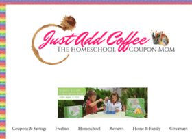 justaddcoffee-thehomeschoolcouponmom.com