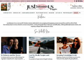justbetweenus.org