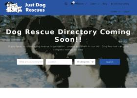 justdogrescues.com