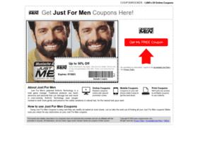justformen.couponrocker.com