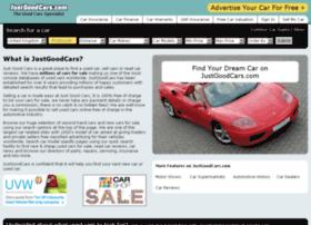 justgoodcars.com