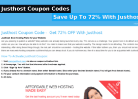 justhostcoupons.snappages.com