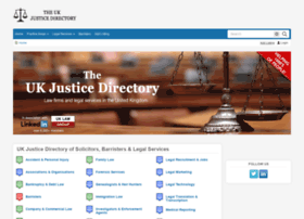 justicedirectory.co.uk