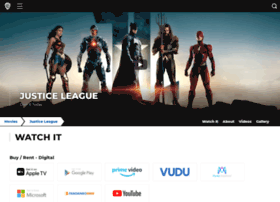 justiceleaguethemovie.com