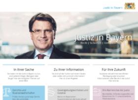 justiz-bayern.de