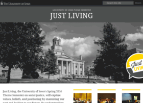 justliving.uiowa.edu