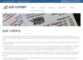 justlottery.com