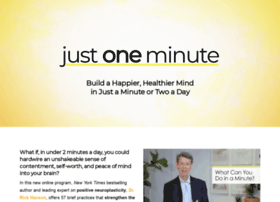 justoneminute.net