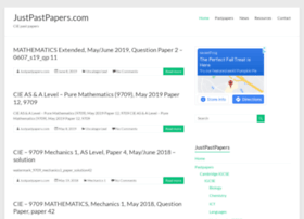 justpastpapers.com