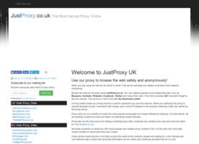 justproxy.co.uk