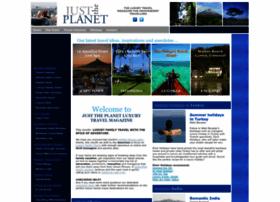 justtheplanet.com