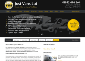 justvans.co.uk