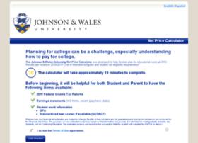 jwu-providence.studentaidcalculator.com