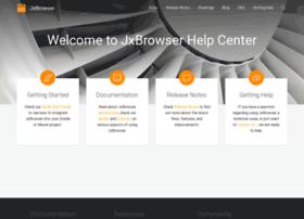 jxbrowser-support.teamdev.com
