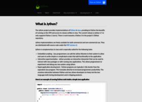 jython.org