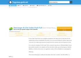 k-lite-codec-pack-full.programas-gratis.net