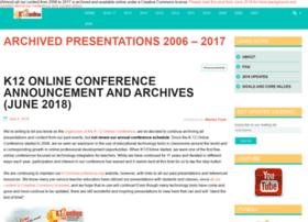 k12onlineconference.org