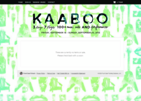 kaaboo.frontgatetickets.com