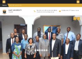 kaafuniversitycollege.edu.gh