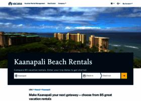 kaanapalibeachrentals.com
