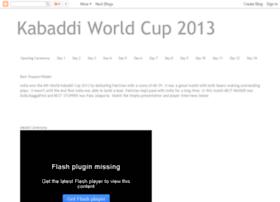 kabaddiworldcup2013.blogspot.ca