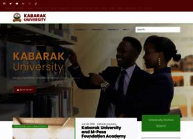kabarak.ac.ke