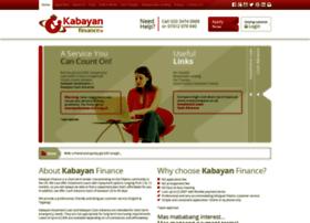 kabayanfinance.co.uk