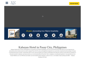 kabayanhotel.com.ph