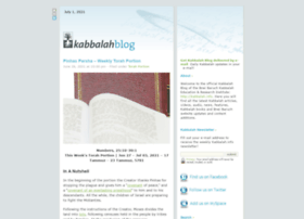 kabbalahblog.info