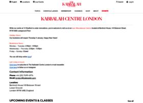 kabbalahcentre.co.uk