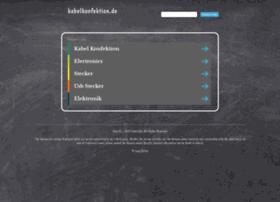 kabelkonfektion.de