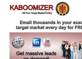 kaboomizer.com