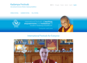 kadampafestivals.org