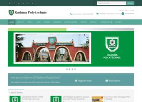 kadunapolytechnic.edu.ng