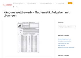 kaenguru-wettbewerb.plakos.de