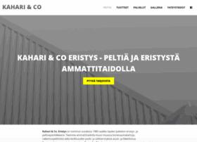 kaharicoeristys.fi