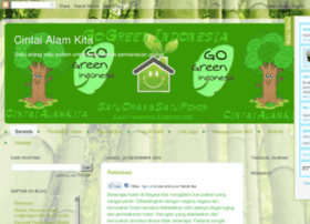 Cintai alam sekitar poster websites and posts on cintai alam sekitar