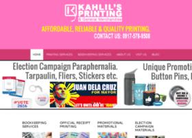 kahlilsprinting.com
