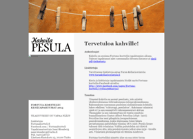 kahvilapesula.fi