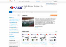 kaideextruder.en.hisupplier.com