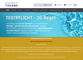 kaiser-therme.de