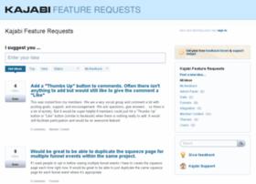 kajabi.uservoice.com