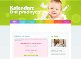 kalendarzdniplodnych.pl