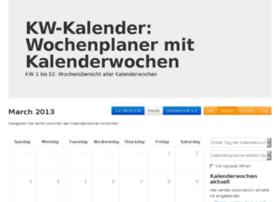 kalender-kw.com
