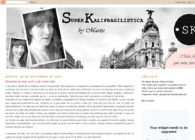 kalifragilisticosinsuper.blogspot.com