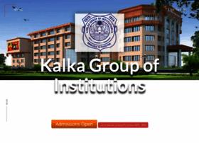 kalkaeducationalsociety.com