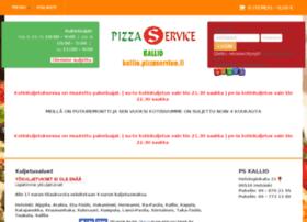 kallio.pizzaservice.fi